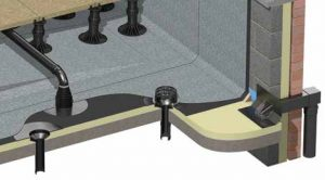 Flat roofing outlets image